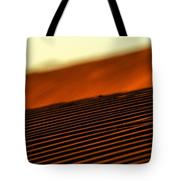 Sand Rows Tote Bag