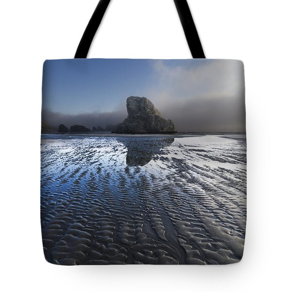Sand Sculptures Tote Bag by Debra and Dave Vanderlaan