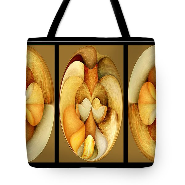 Sanded Woods Triptych Light Tote Bag