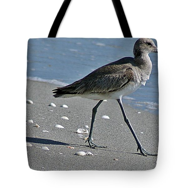 Sandpiper 1 Tote Bag by Joe Faherty
