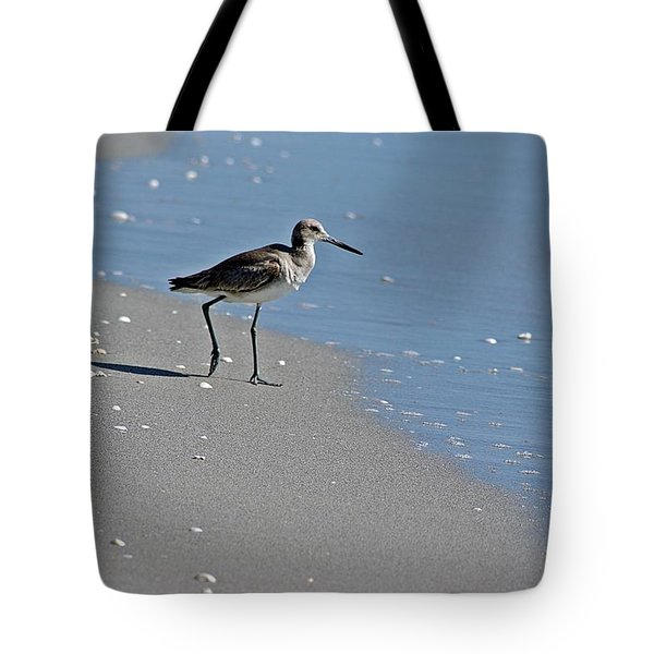 Sandpiper 2 Tote Bag by Joe Faherty