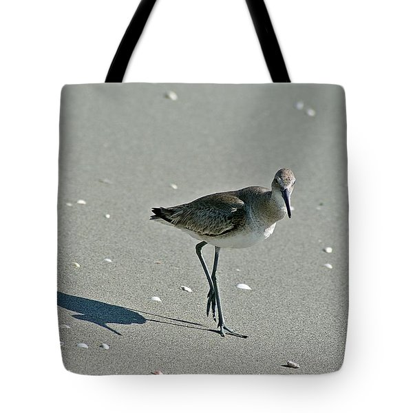 Sandpiper 3 Tote Bag by Joe Faherty