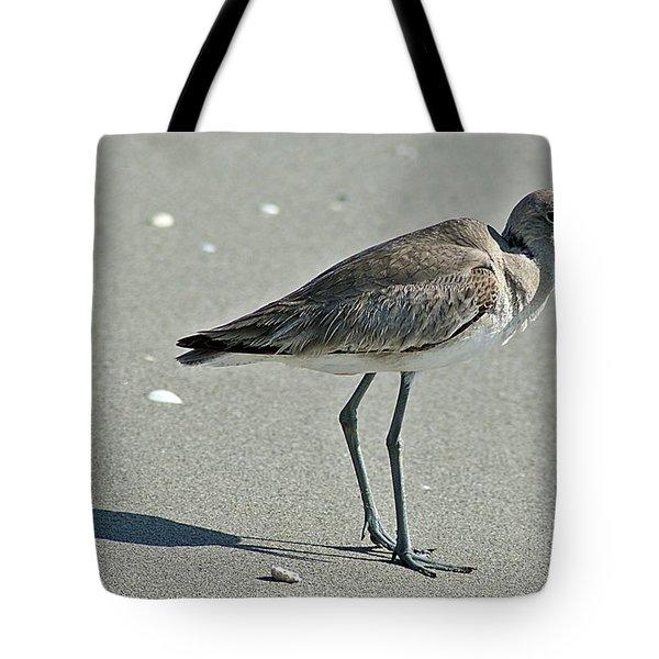 Sandpiper 4 Tote Bag by Joe Faherty