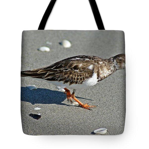 Sandpiper 9 Tote Bag by Joe Faherty