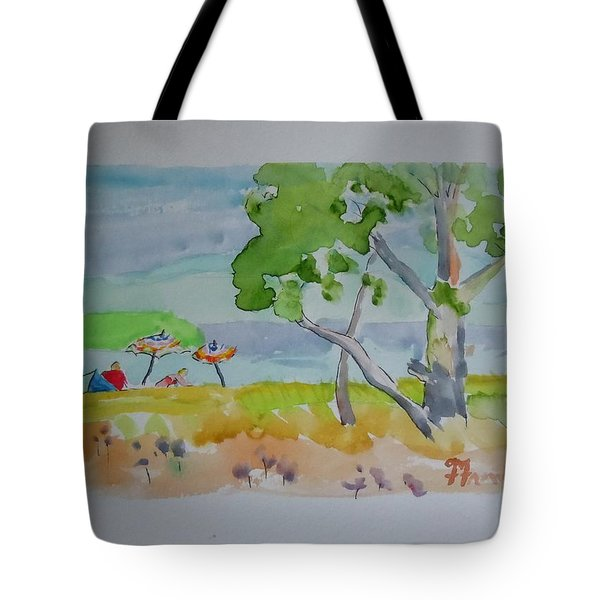 Sandpoint Bathers Tote Bag