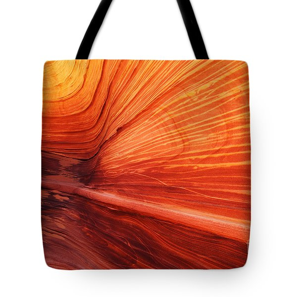 Sandstone Wave  Tote Bag by Dennis Hedberg