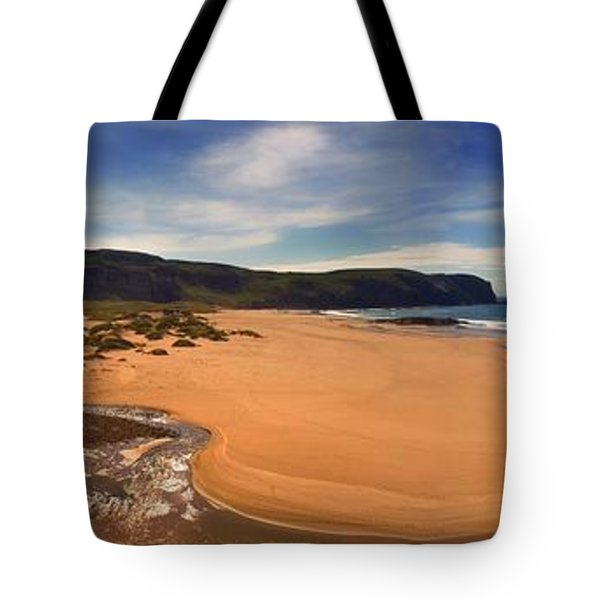 Sandwood Bay Tote Bag