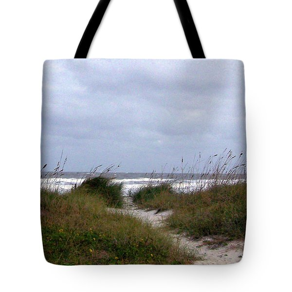 Sandy Path To The Beach Tote Bag by Patricia Taylor