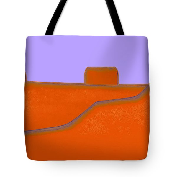 Santa Fe Tote Bag by Linda  Parker