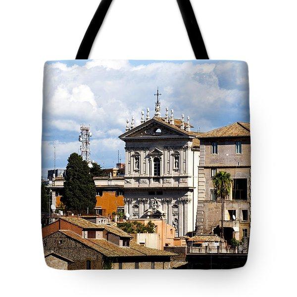 Santi Domenico E Sisto Tote Bag by Fabrizio Troiani