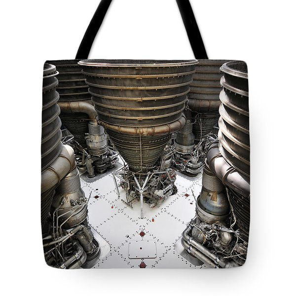 Saturn Five Tote Bag by David Lee Thompson