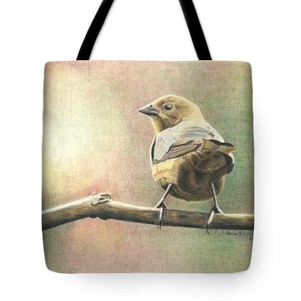 Saucy Cowbird Tote Bag
