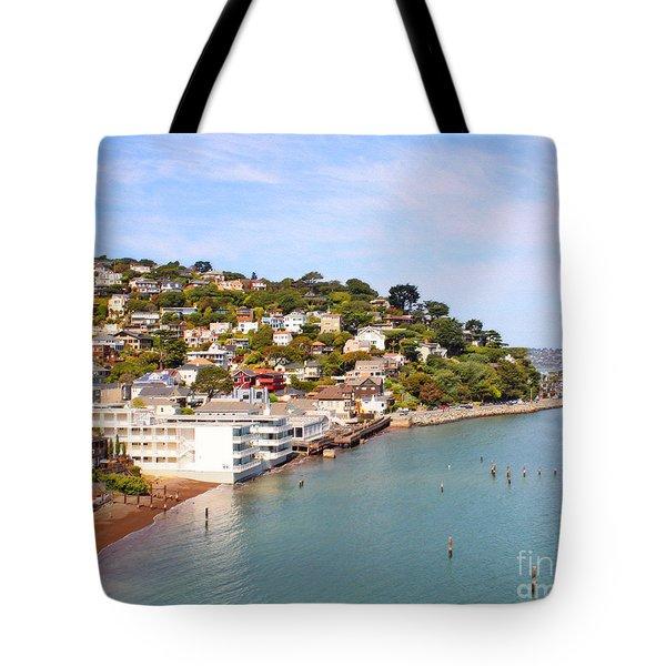 Sausalito California Tote Bag by Jack Schultz