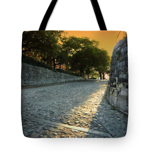 Tote Bag featuring the photograph Savannah Sunset by Paul Mashburn