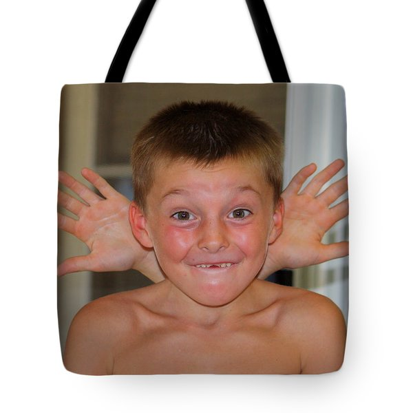 Tote Bag featuring the photograph Say What by Patrick Witz