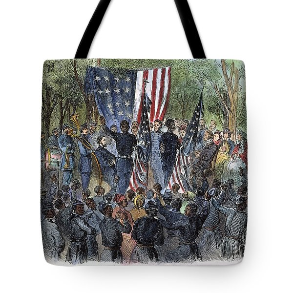 Sc: Emancipation, 1863 Tote Bag by Granger