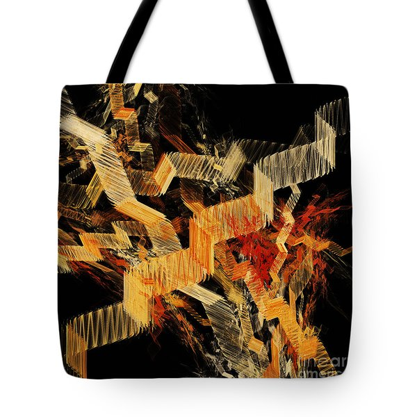 Scare Case Stair Case Tote Bag by Andee Design