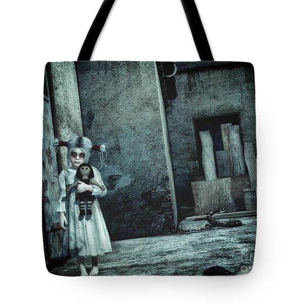 Scary Place Tote Bag