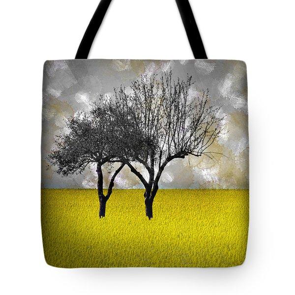 Scenery-art Landscape Tote Bag by Melanie Viola