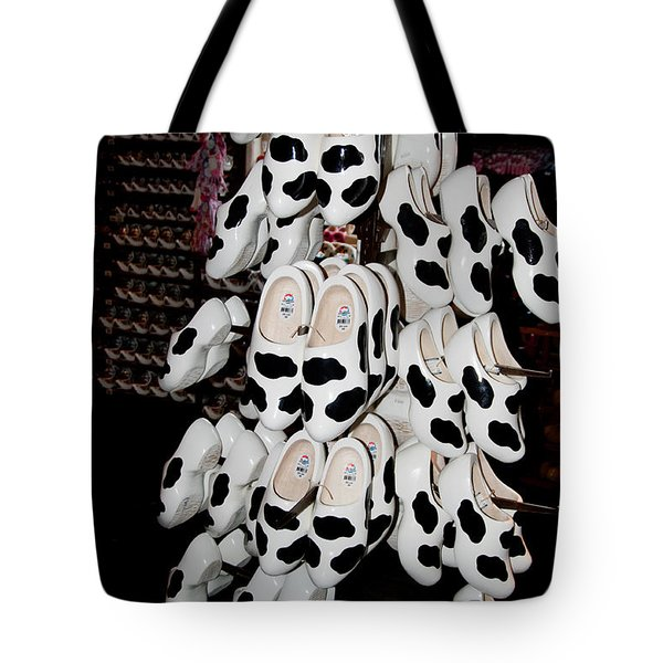 Tote Bag featuring the digital art Scenes From Amsterdam by Carol Ailles