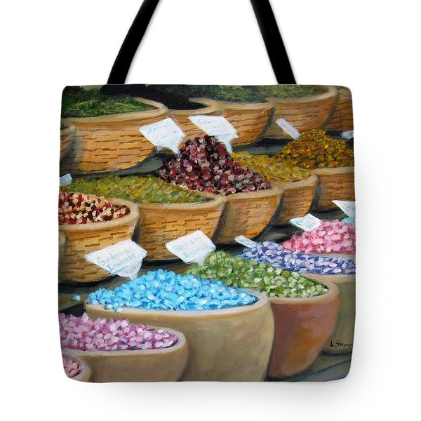 Scents For The Senses Tote Bag