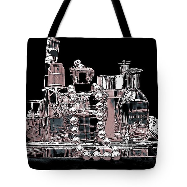 Tote Bag featuring the photograph Scents Of A Woman Abstract by DigiArt Diaries by Vicky B Fuller