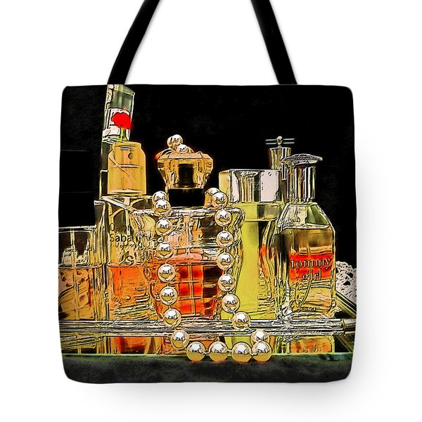 Tote Bag featuring the photograph Scents Of A Woman by DigiArt Diaries by Vicky B Fuller