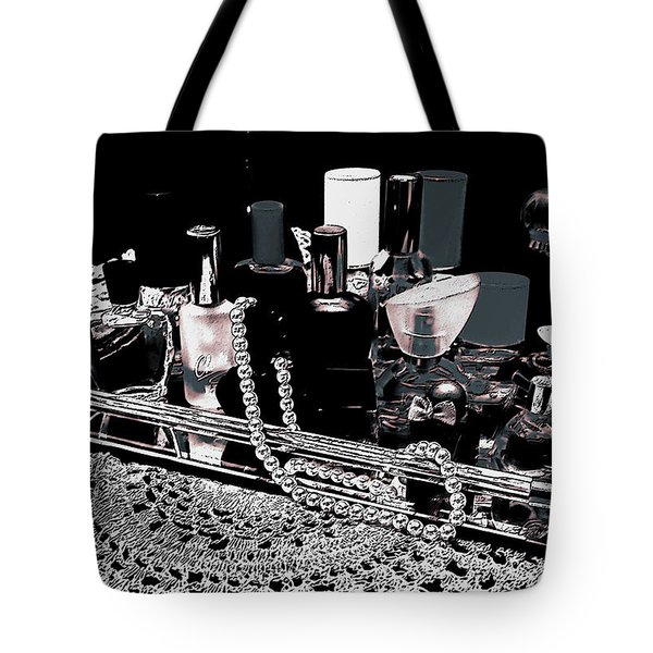 Tote Bag featuring the photograph Scents Of A Woman II Abstract by DigiArt Diaries by Vicky B Fuller