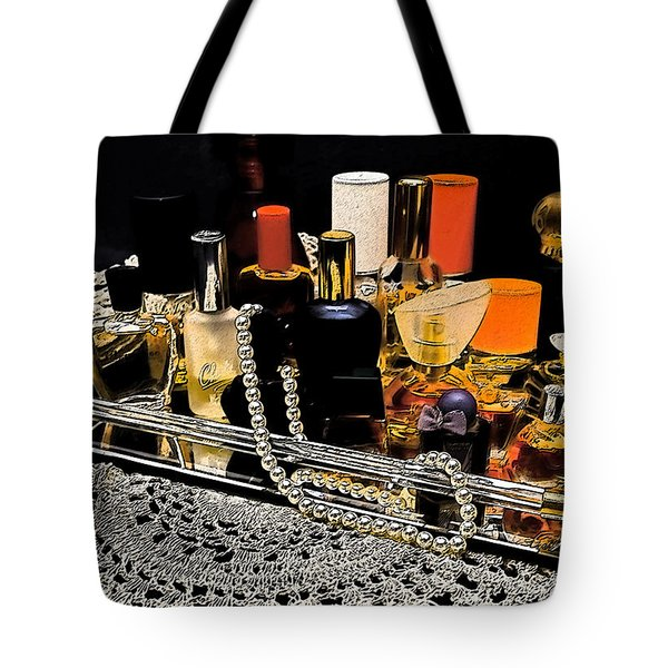 Tote Bag featuring the photograph Scents Of A Woman II by DigiArt Diaries by Vicky B Fuller