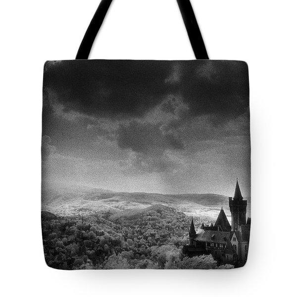 Schloss Wernigerode Tote Bag by Simon Marsden