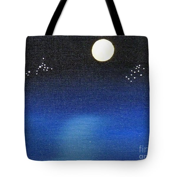 Scorpio And Aquarius Tote Bag by Alys Caviness-Gober