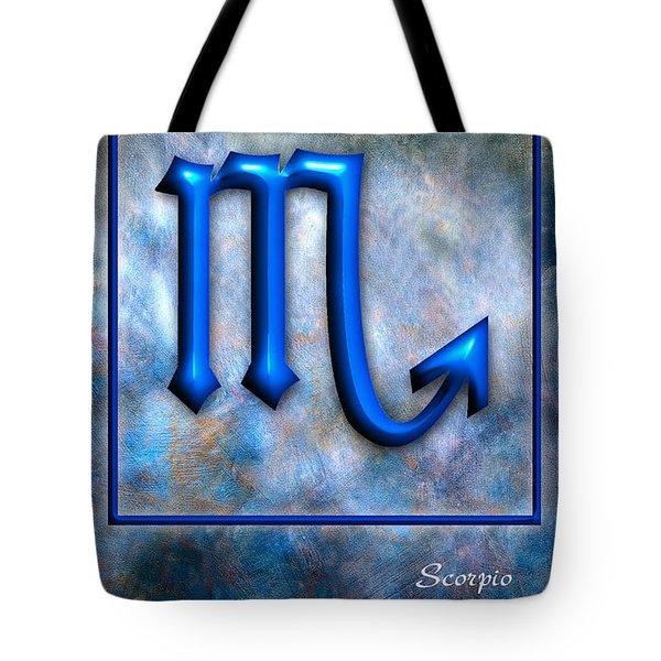 Scorpio  Tote Bag by Mauro Celotti