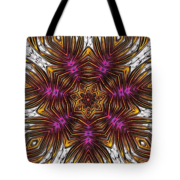 Tote Bag featuring the digital art Scorpion Sunset by Alec Drake