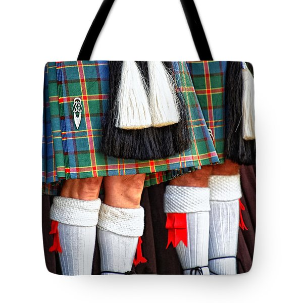 Scottish Festival 4 Tote Bag by Dawn Eshelman