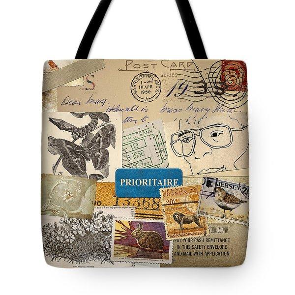 Scrapbook Page Number 2 Tote Bag