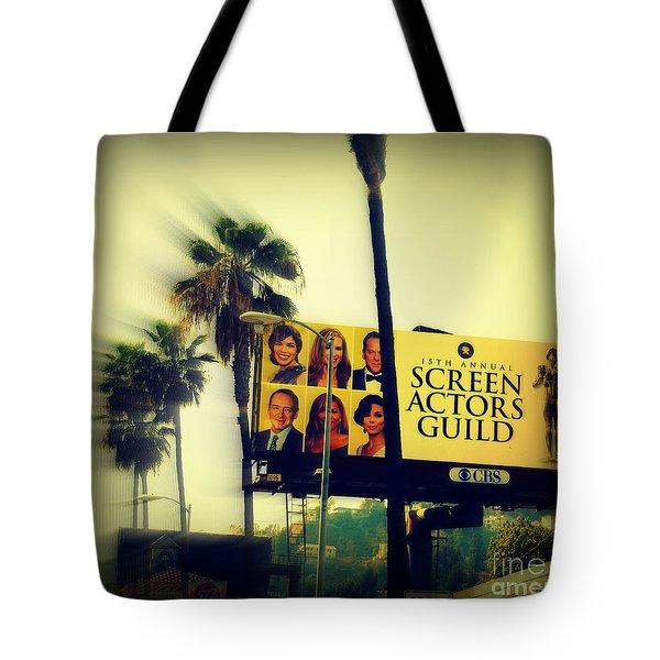 Screen Actors Guild In La Tote Bag by Susanne Van Hulst