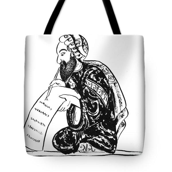 Scribe: Arab, 14th Century Tote Bag by Granger