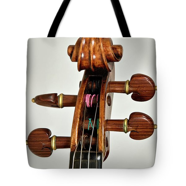 Tote Bag featuring the photograph Scroll Front by Endre Balogh