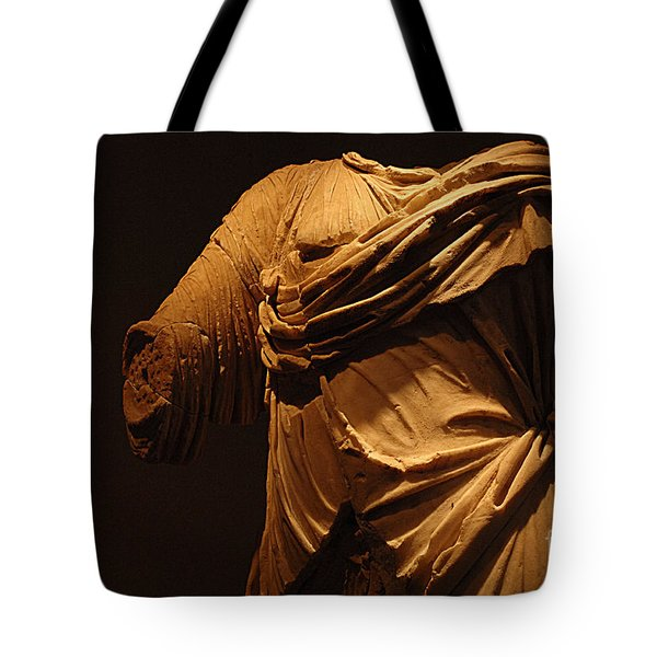 Sculpture Olympia 1 Tote Bag by Bob Christopher