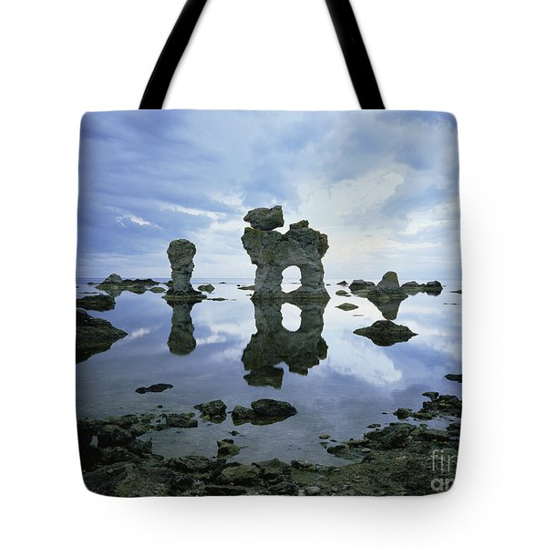 Sea Arch Tote Bag by Bjorn Svensson and Photo Researchers