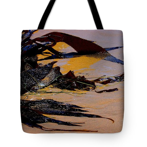 Pismo Beach Sea Drift Tote Bag