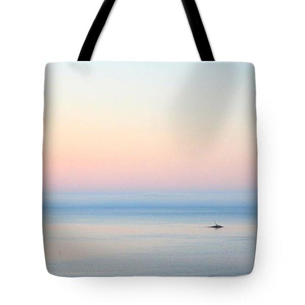 Sea Fog Tote Bag