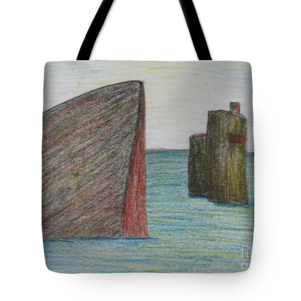 Sea Front Tote Bag by Nedunseralathan R