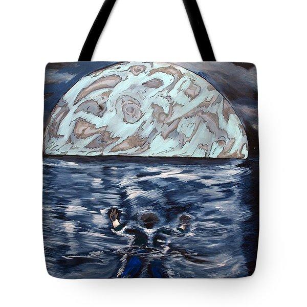 Sea Of Troubles Tote Bag by Lisa Brandel