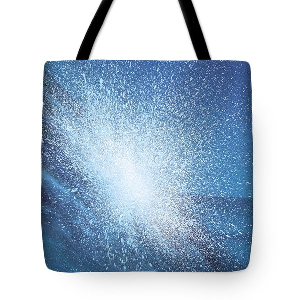 Sea Picture Vi Tote Bag by Alan Byrne