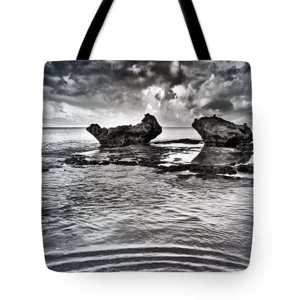 Sea Ripples Tote Bag by Stelios Kleanthous