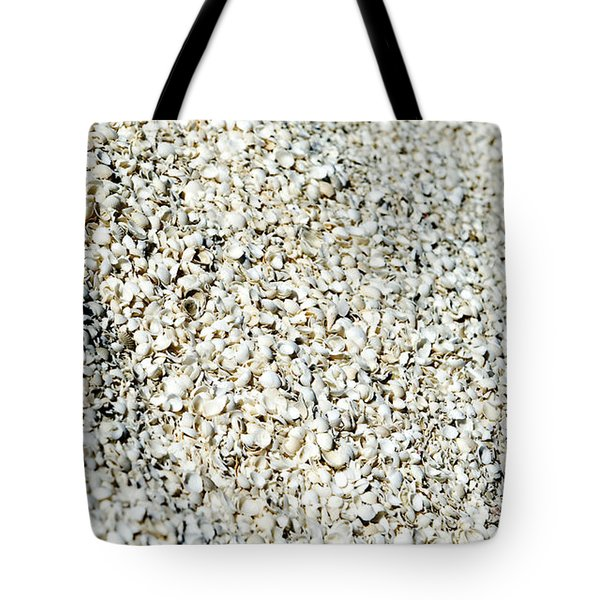 Tote Bag featuring the photograph Sea Shells by Yew Kwang