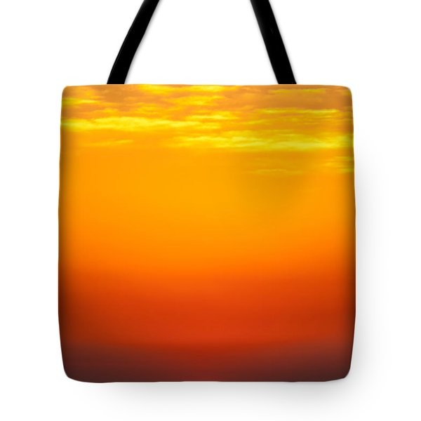 Sea Sunrise Tote Bag