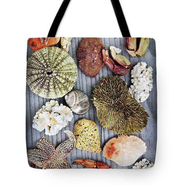 Sea Treasures Tote Bag by Elena Elisseeva