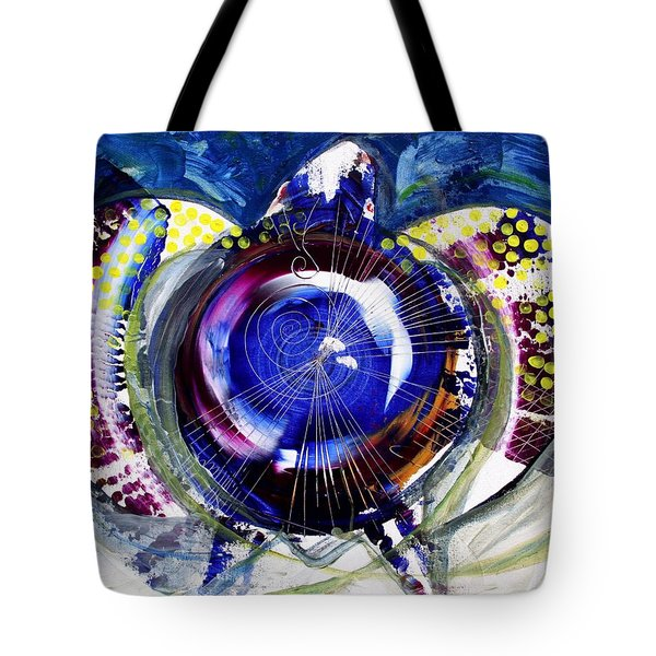 Sea Turtle Ethereal Tote Bag by J Vincent Scarpace
